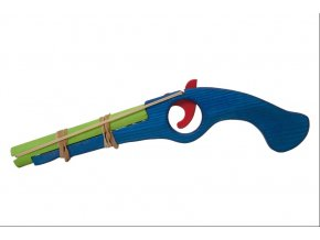 Fauna Dřevěná flinta modrá