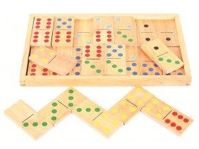 Bigjigs Toys Velké dřevěné domino