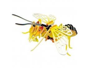 Woodcraft Dřevěné 3D puzzle včela