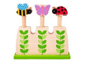 Bigjigs Toys Nasazovací věž Garden