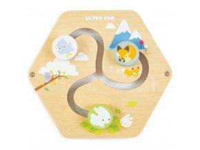 Le Toy Van Petilou hrací panel labyrint