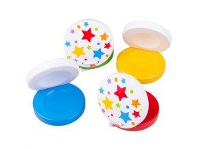 Bigjigs Toys Kastaněty hvězdičky 1 ks žlutá Bigjigs Toys Kastaněty hvězdičky 1 ks žlutá