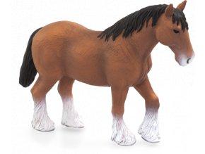 Mojo Animal Planet Kůň Clydesdale hnědý