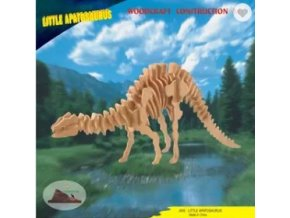 Woodcraft Dřevěné 3D puzzle Apatosaurus střední