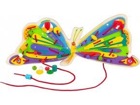 Small Foot Provlékací hra Caterpillar