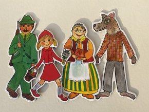 cervena karkulka ciapocka loutky babky marionetino (9)