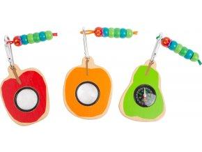 Small Foot Badatelský nástroj Caterpillar 1 ks oranžové pozorovátko Small Foot Badatelský nástroj Caterpillar 1 ks oranžové pozorovátko