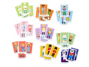 Bigjigs Toys Karetní hra Šťastná rodinka