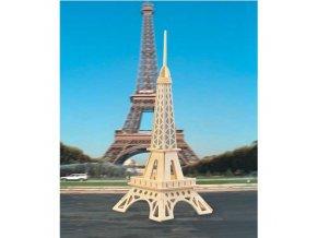 Woodcraft Dřevěné 3D puzzle eiffelova věž menší