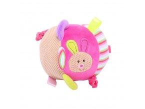 Bigjigs Baby Textilní motorická koule - Králíček Bella