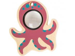 Small Foot Hračka chobotnice růžová Small Foot Hračka chobotnice růžová