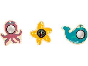Small Foot Hračky pro malé dobrodruhy mořská zvířátka 1 ks