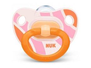 NUK Dudlík silikonový HAPPY DAYS V3 (18m+) oranžová NUK Dudlík silikonový HAPPY DAYS V3 (18m+) oranžová