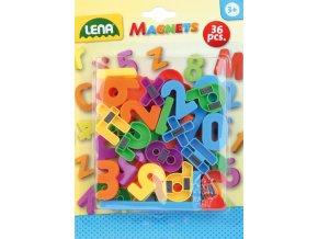 Lena Magnetické barevné číslice