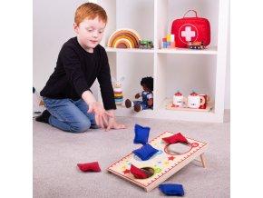 Bigjigs Toys Hra házení polštářky