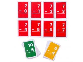 Bigjigs Toys Kartičky odčítání 1-10