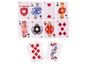Bigjigs Toys klasické karty