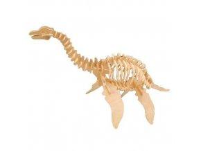 Woodcraft Drevené 3D puzzle veľký Plesiosaurus