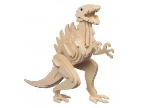 Woodcraft Dřevěné 3D puzzle dinosauři godzilla