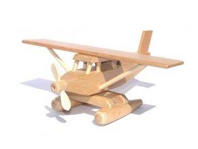 Ceeda Cavity - dřevěné letadlo Hydroplán natur