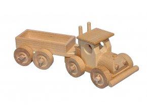 Ceeda Cavity - přírodní dřevěné auto - TIR s korbou