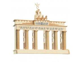 Woodcraft Dřevěné 3D puzzle Brandenburgská brána