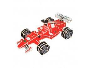 Woodcraft Dřevěné 3D puzzle Formule