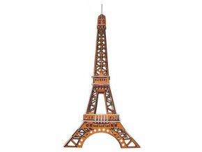 Woodcraft Dřevěné 3D puzzle eiffelova věž