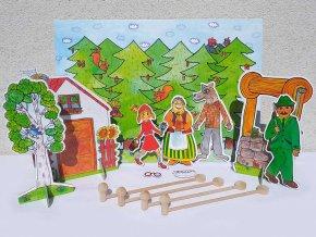cervena karkulka loutkova pohadka marionetino (6)