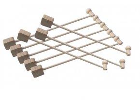 Velká královská sada - loutky, kulisy, pozadí, 8 ks tyček