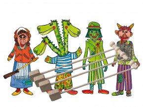 drak cert jezibaba vodník loutky marionetino pro deti (5)