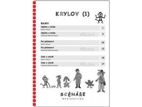 KRYLOV 1 WEB, LETÁK