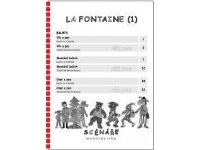 LE FONTAINE 1 WEB, LETÁK