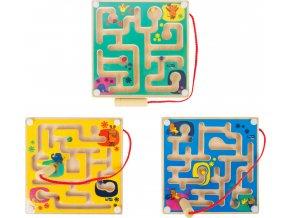 Magnetický labyrint Myš 1ks modrá Magnetický labyrint Myš 1ks modrá