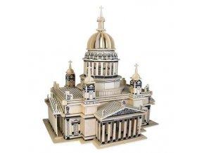 Woodcraft Dřevěné 3D puzzle katedrála Kiev