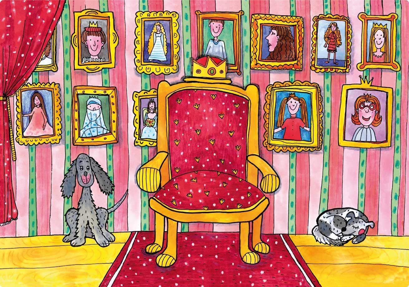 MARIONETINO Šípková Růženka – loutky pro loutkové divadlo, kulisy
