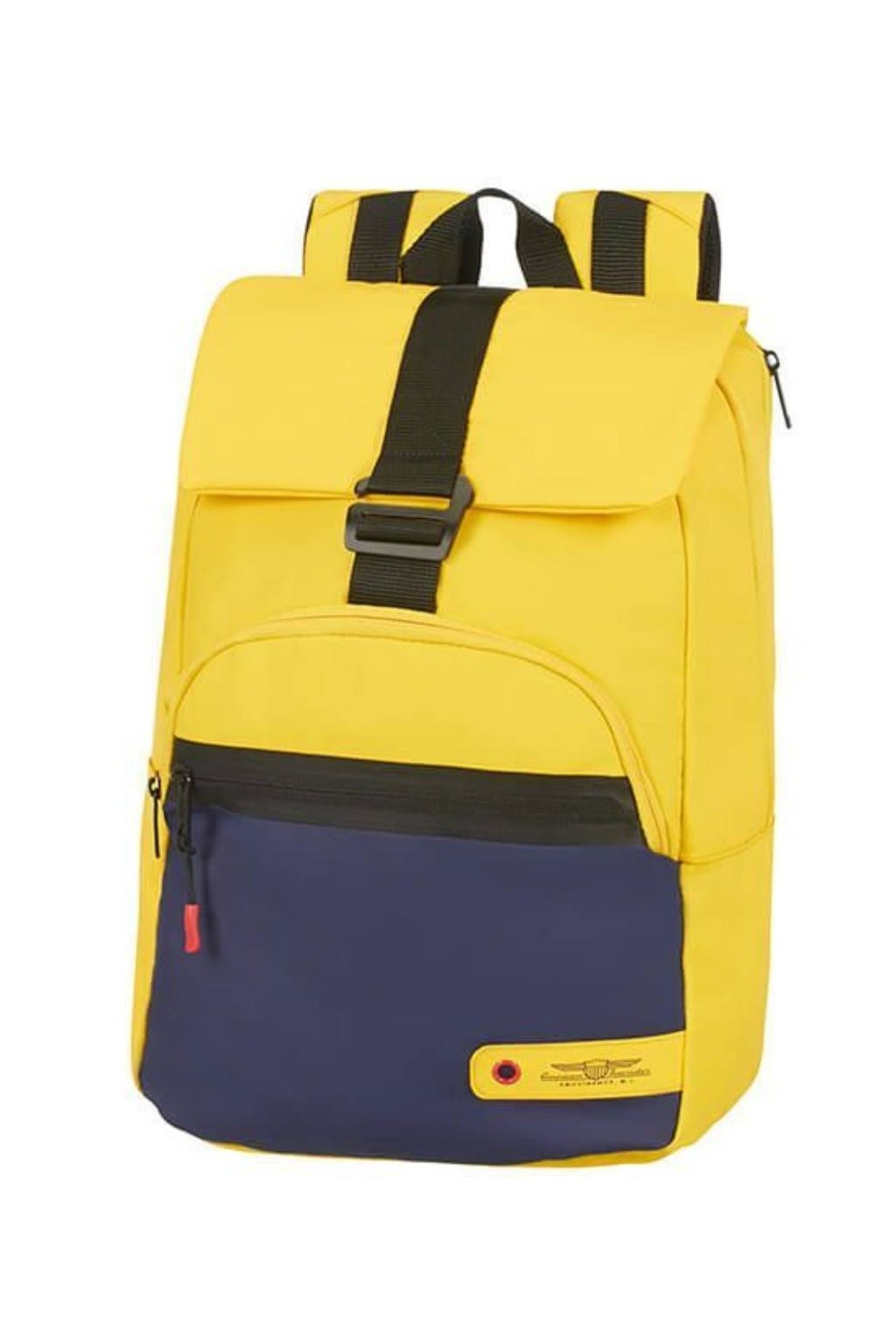 kufrland americantourister cityaim laptopbackpack14.1 blue yellow1