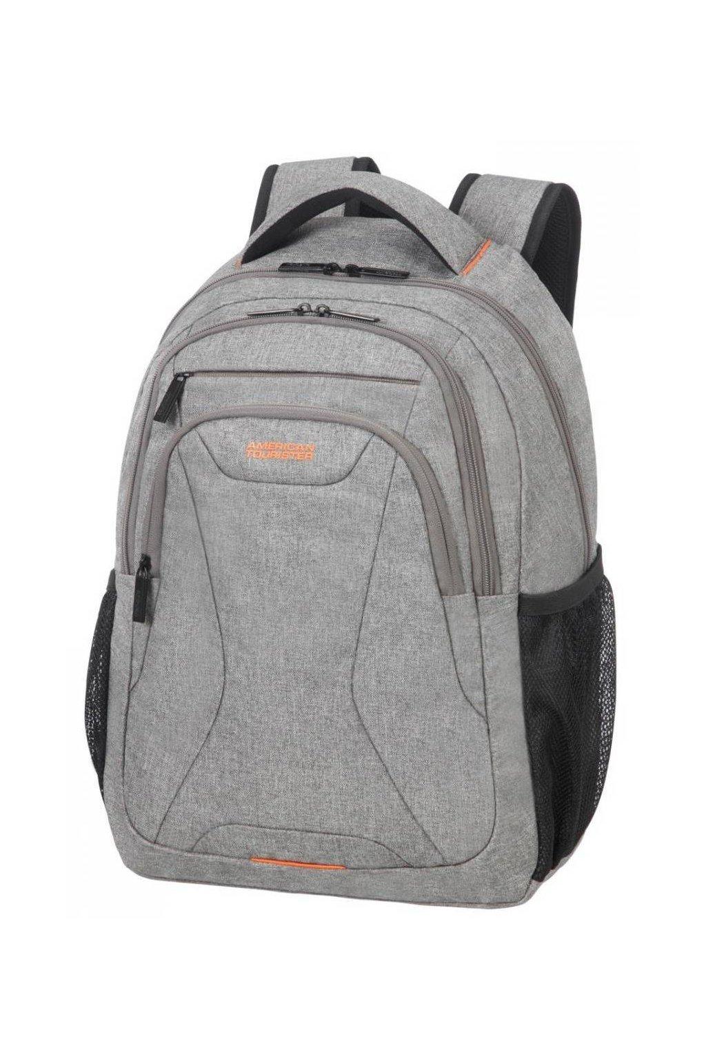 kufrland americantourister atwork laptopbackpack15.6 melangecoolgrey1