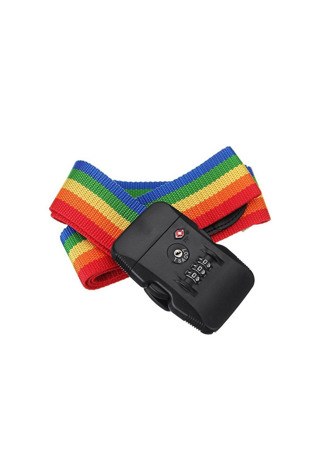 kufrland carryon rainbow luggage straptsa (4)