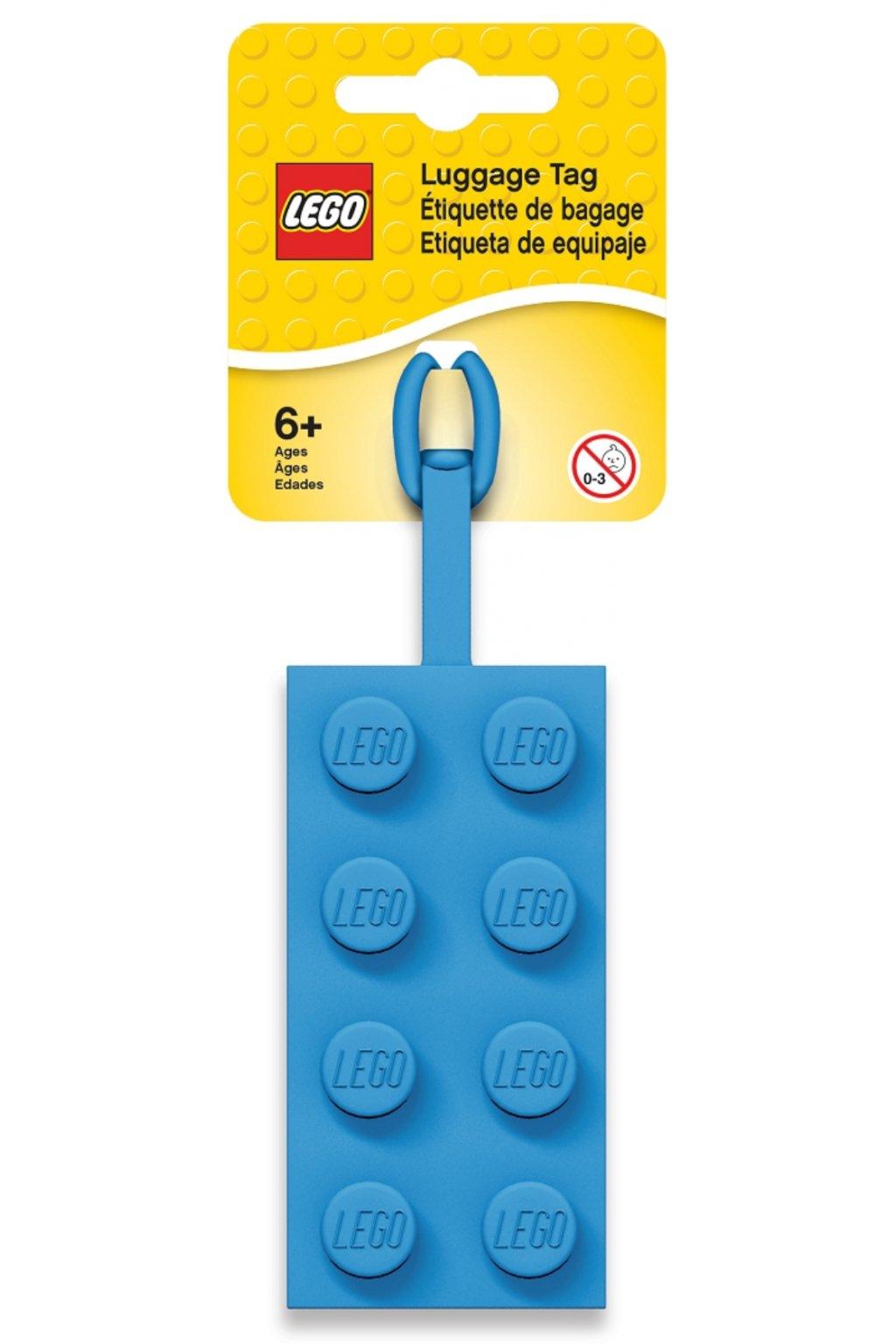 kufrland lego jmenovka kostka blue1
