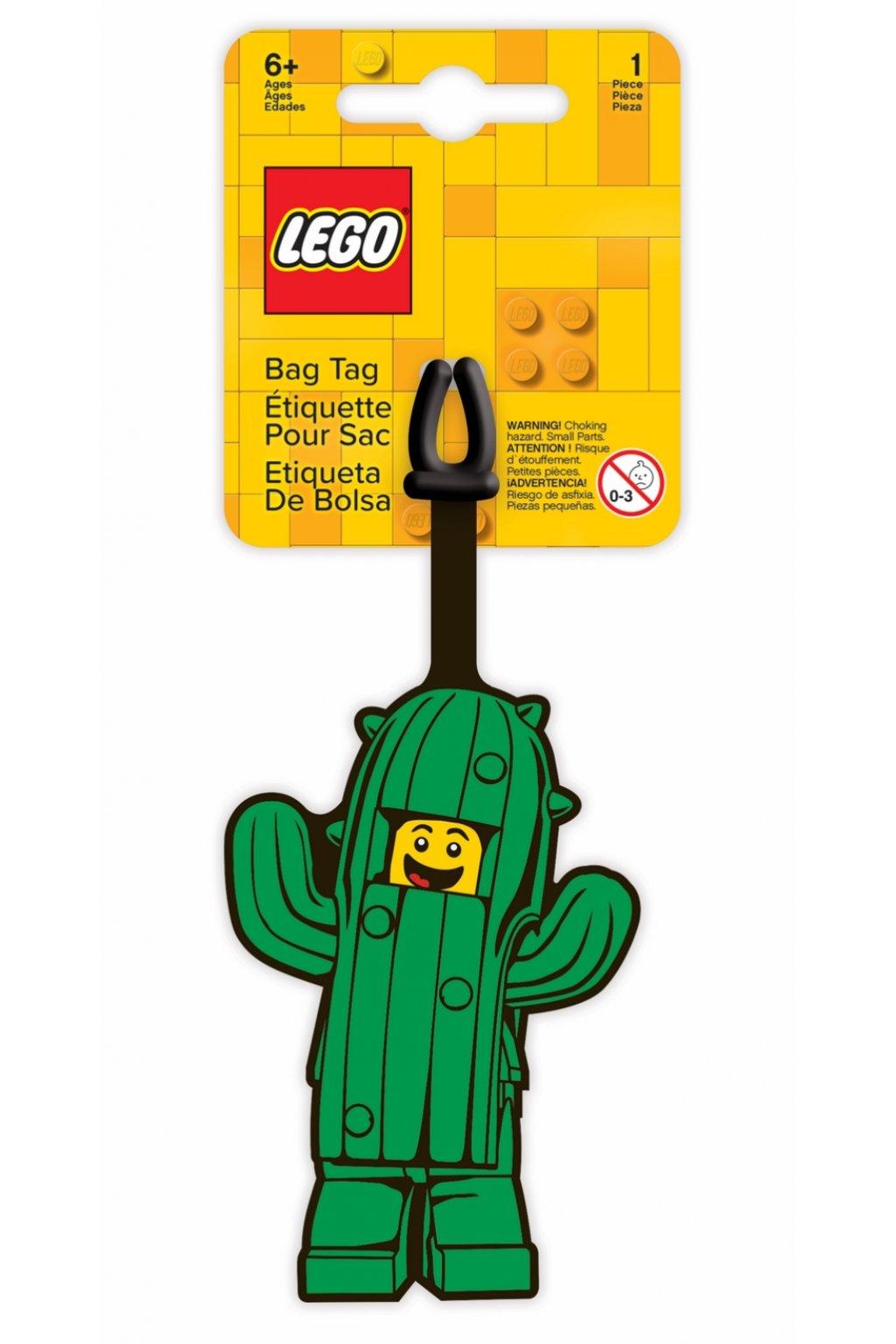kufrland lego jmenovka kaktus