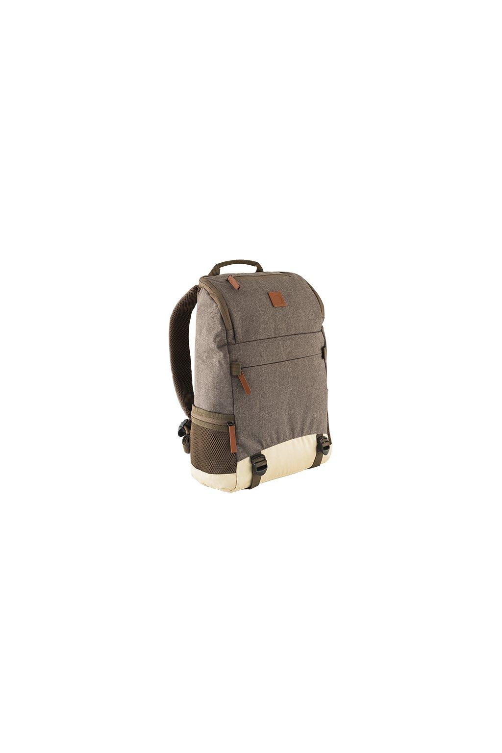 kufrland delsey backpack brown (2)