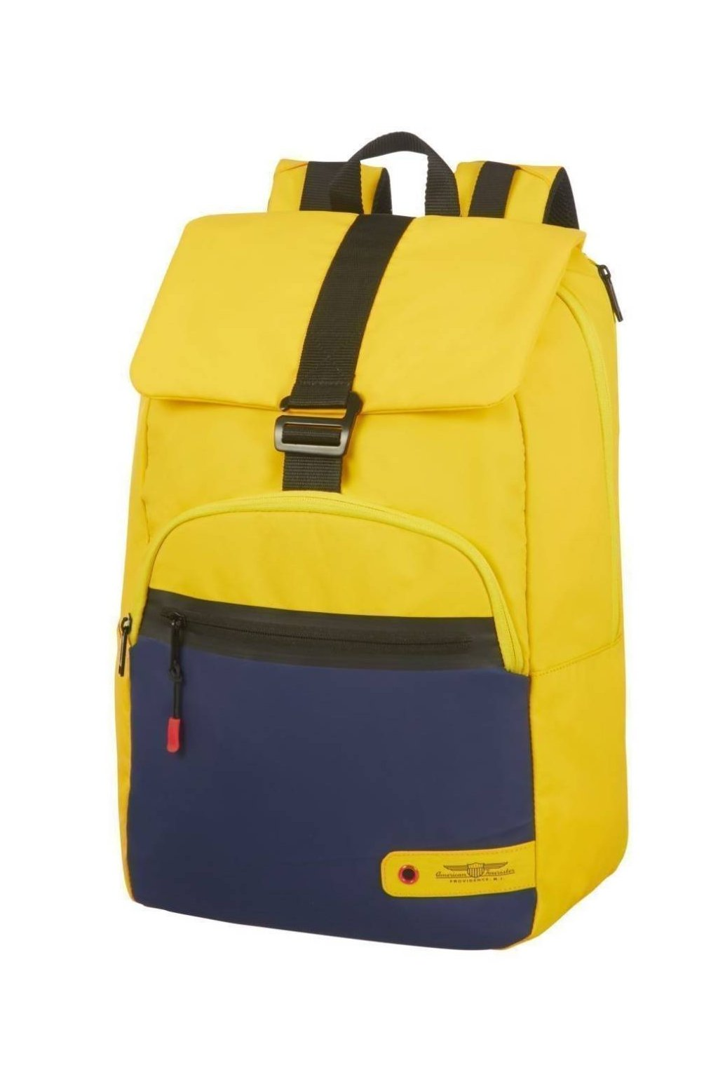 kufrland americantourister cityaim laptopbackpack15.6 yellow blue1