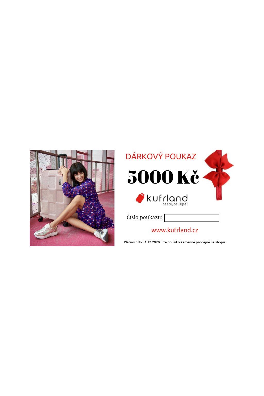 kufrland darkovypoukaz 5000kc