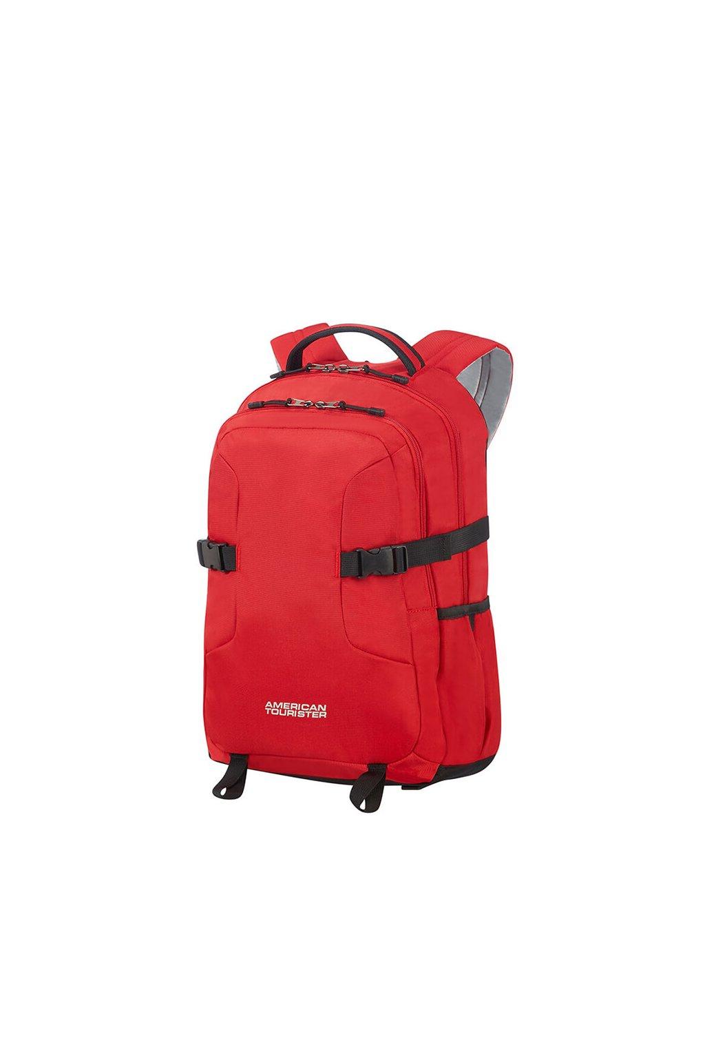 kufrland americantourister urbangroove laptopbackpack red (1)