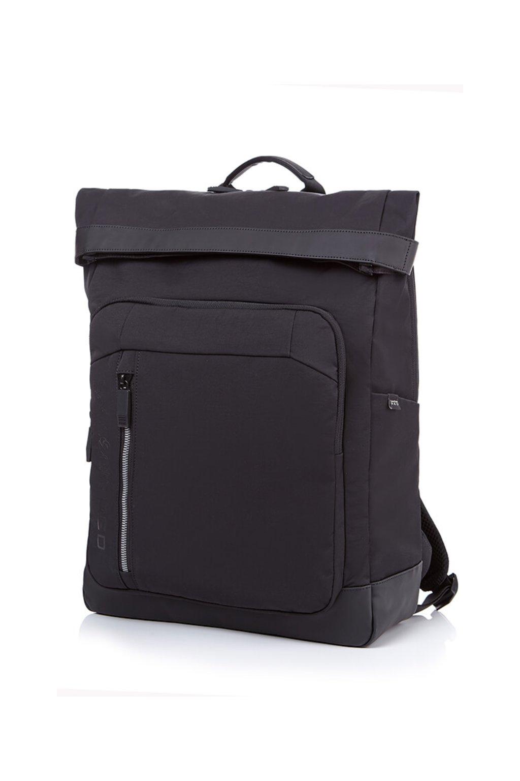 kufrland samsonite ruon flac backpack black (1)