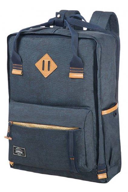 kufrland americantourister urbangroove lifestyle backpack denim (2)