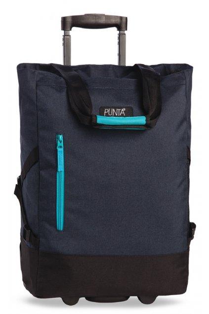 Nákupní taška Punta Wheel Dark Blue