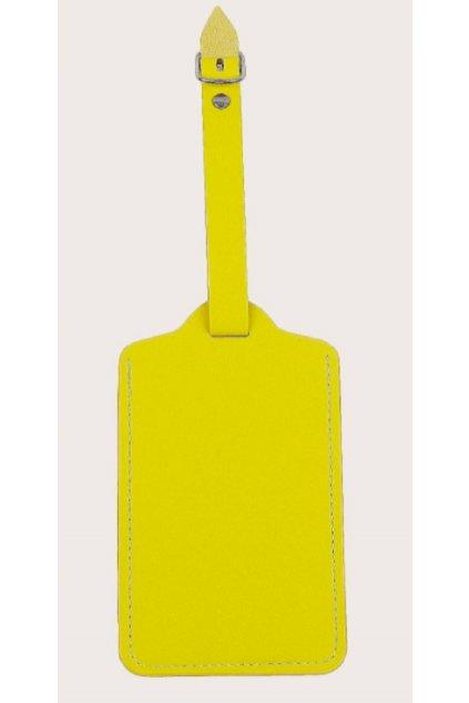 kufrland jmenovka žlutá (1)