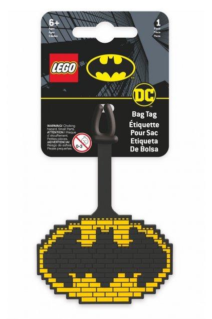 kufrland lego jmenovka batman logo